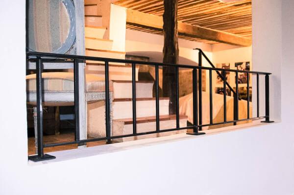 rampes garde corps et mains courantes en fer forg la forge de l 39 est rel. Black Bedroom Furniture Sets. Home Design Ideas
